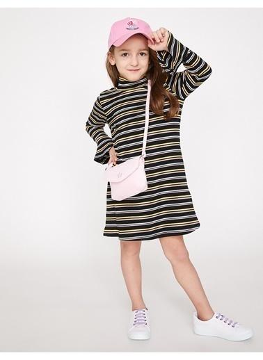 Koton Kids Elbise Ekru